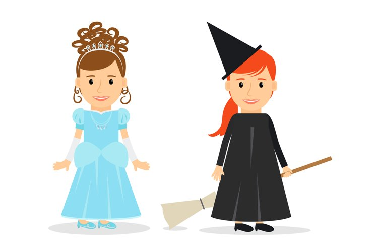Little Princess and Witch example image 1