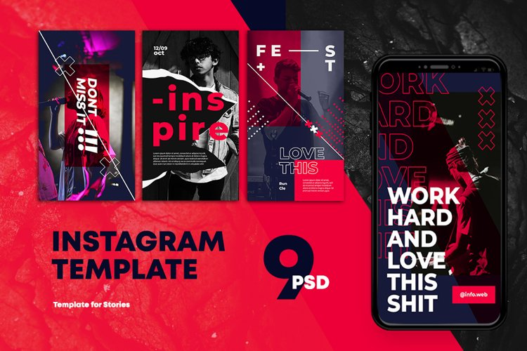 Fashion Instagram Stories Templates example image 1