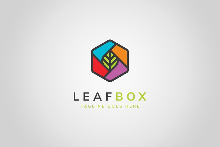 Leaf Box Logo example image 1