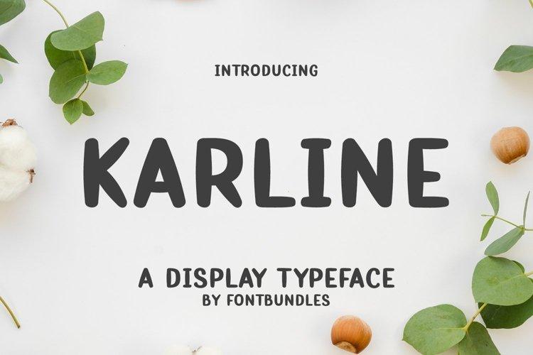 Web Font Karline example image 1