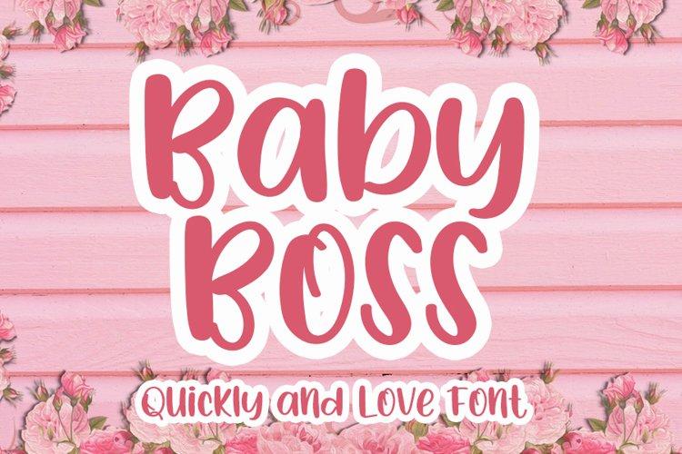 Baby Boss example image 1