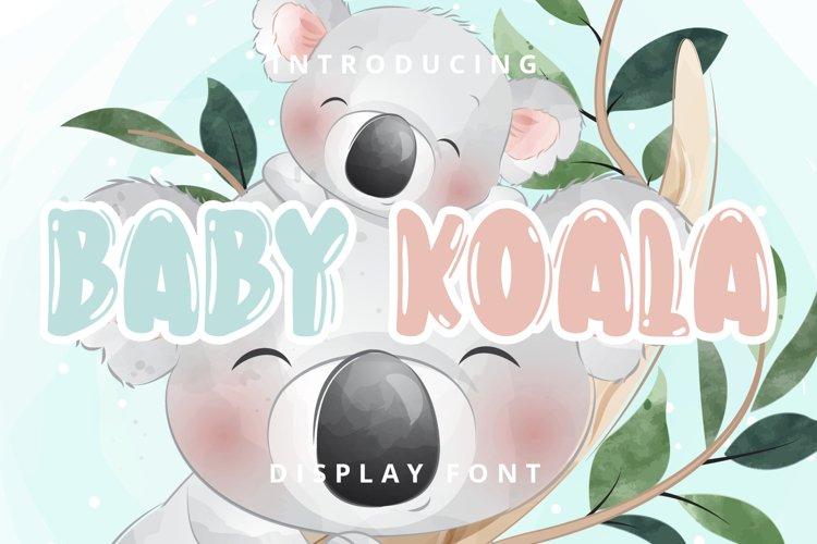 Baby Koala example image 1