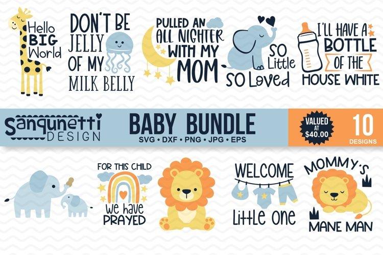 Baby Shower and newborn SVG Bundle - 10 designs