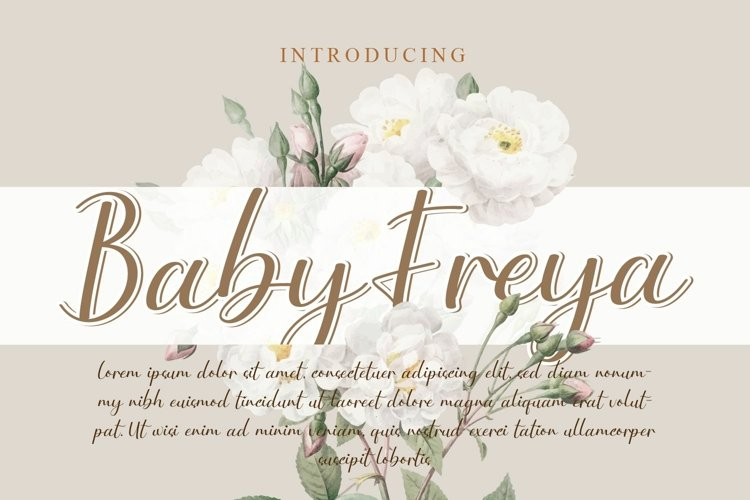Baby Freya example image 1