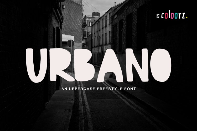 URBANO Freestyle Font
