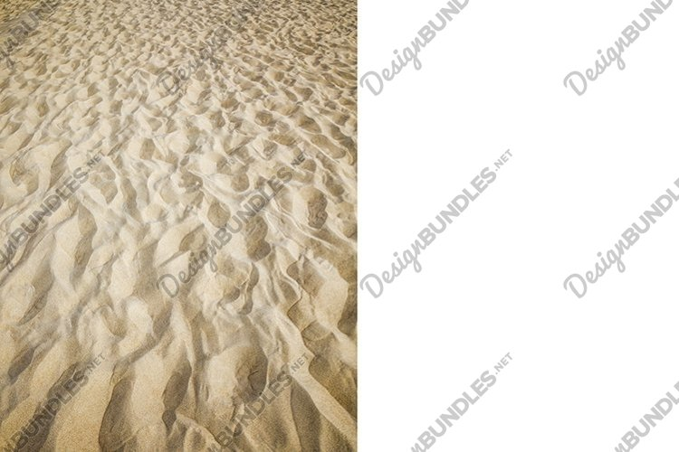wavy uneven structure of sand example image 1