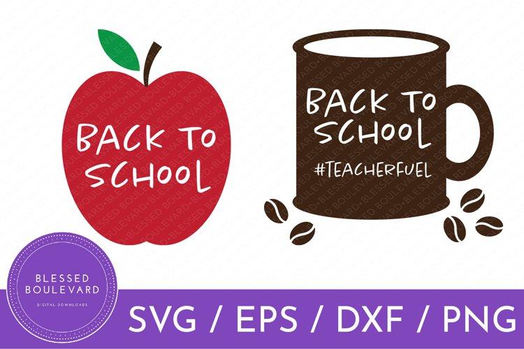 Back To School Clipart | Teacher SVGs | School Vector
