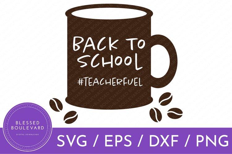 Back To School Clipart | Teacher SVG | Coffee SVG