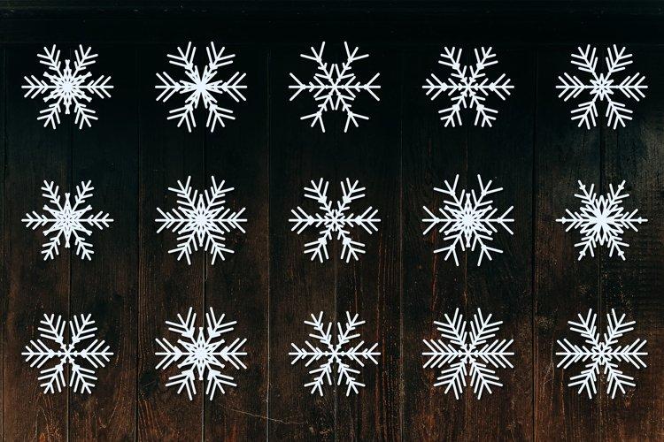 Bundle of Christmas Snowflake, Snowflake SVG, Snowflakes SVG