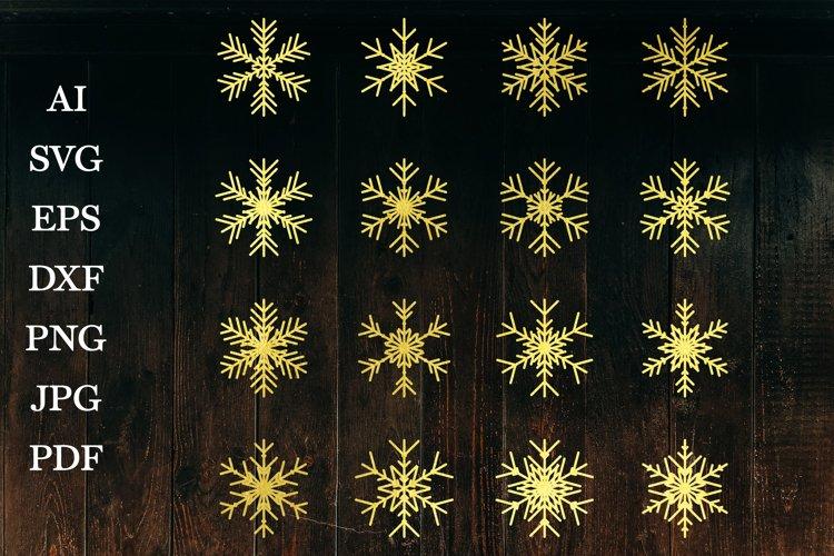 Christmas Snowflake, Snowflakes SVG, Snowflakes Paper Cut