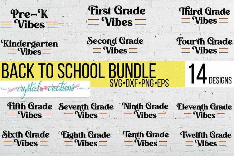 Back to School VibesBundle SVG, PNG, DXF, EPS