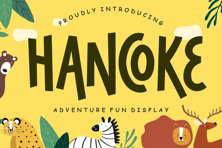 Hancoke Adventure Fun Display example image 1