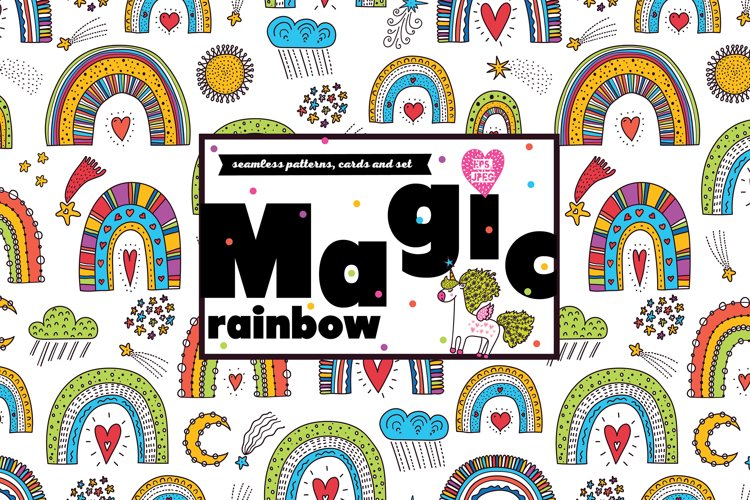 Magic rainbow. example image 1
