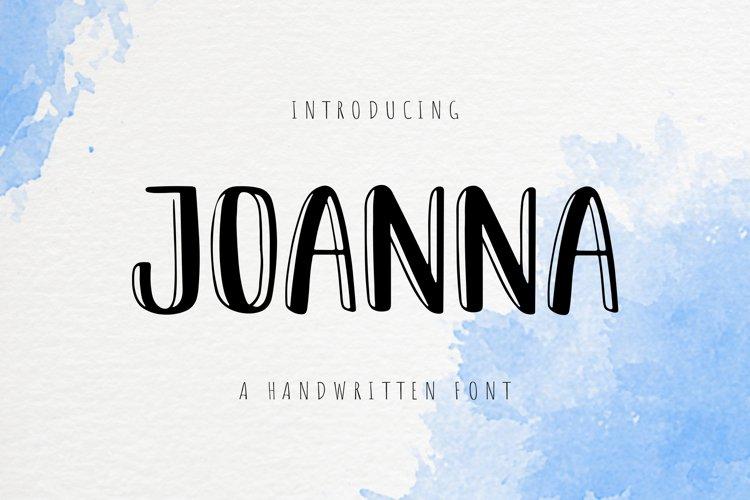 Joanna example image 1