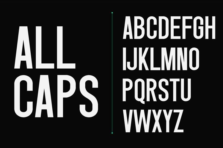 Singo - Sans Display Font example 12