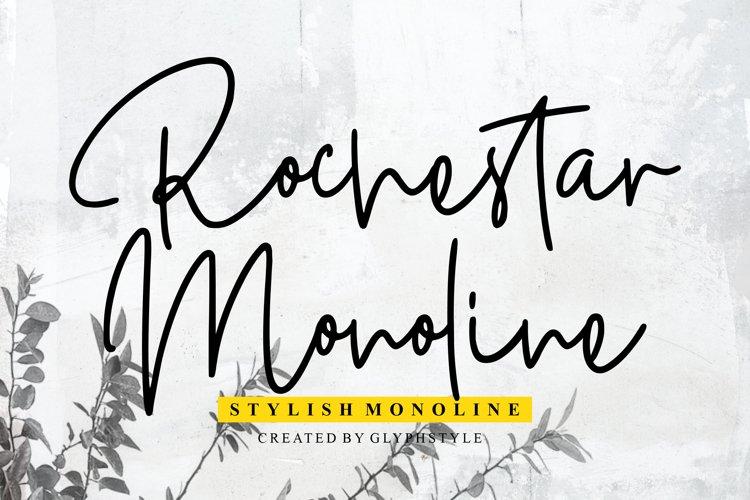 Rochestar Stylish Monoline example image 1