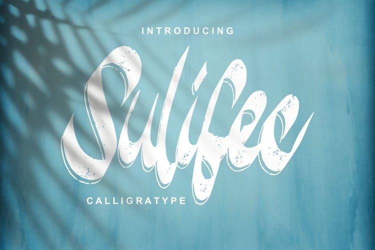 Sulifec | Calligratype Script Font example image 1