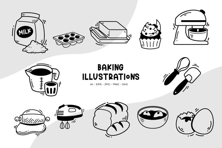 Baking Illustrations example image 1