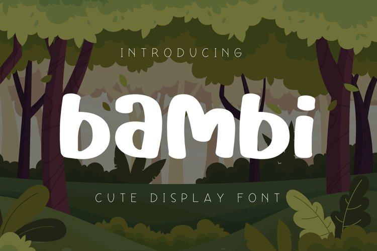 Bambi example image 1