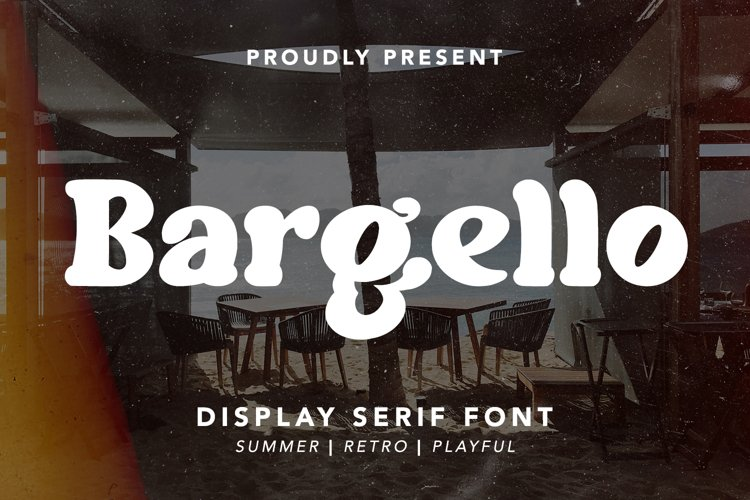 Bargello - Display Serif Font example image 1