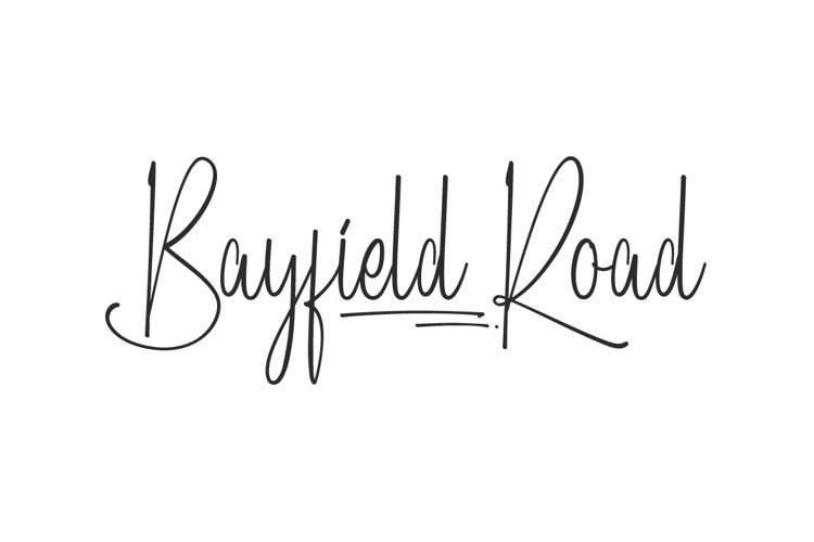 Bayfield Road example image 1