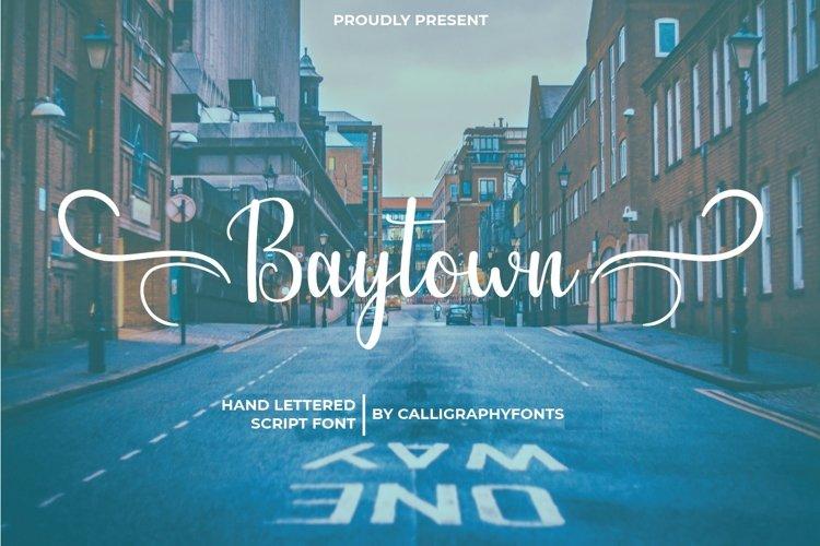 Baytown example image 1