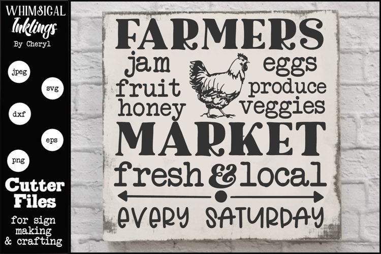 Farmers Market 8 SVG example image 1