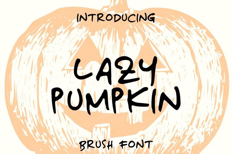 Lazy Pumpkin example image 1