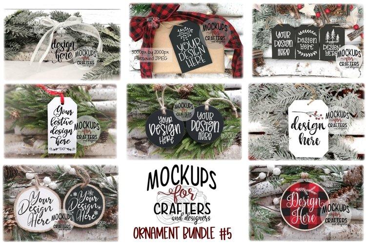 Ornament Bundle #5 - EIGHT ORNAMENT MOCK-UPS