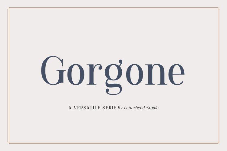 Gorgone - A Versatile Serif example image 1