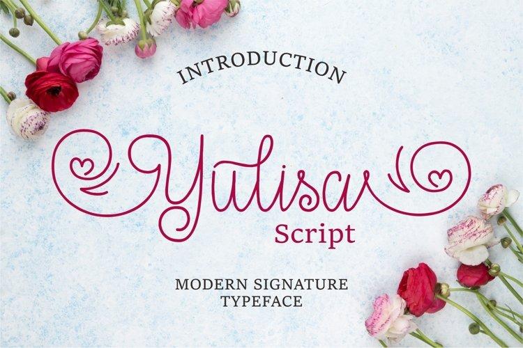 Yulisa Script example image 1
