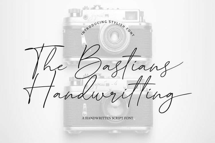 The Bastians Handwritting example image 1