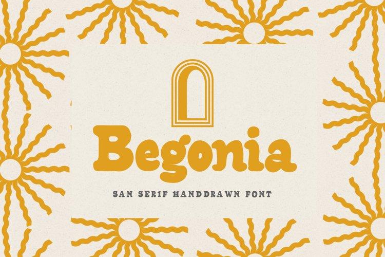 Begonia - Sans Serif