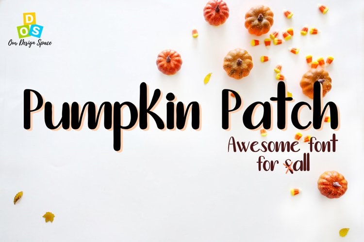 Pumpkin Patch Font example image 1
