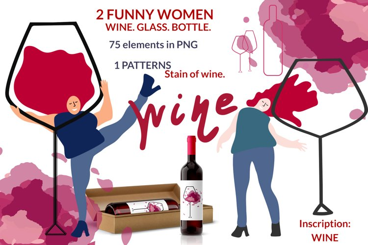 Label for RED WINE example image 1