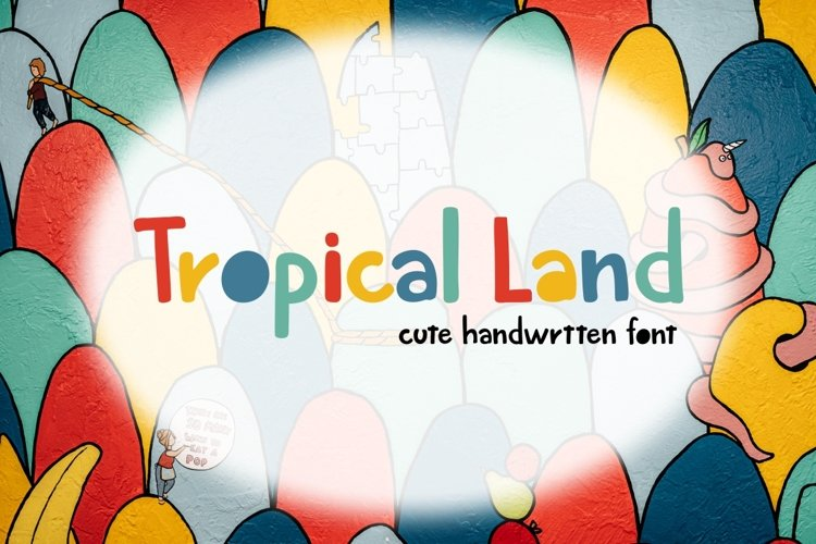 Tropical Land - Cute Display Font example image 1