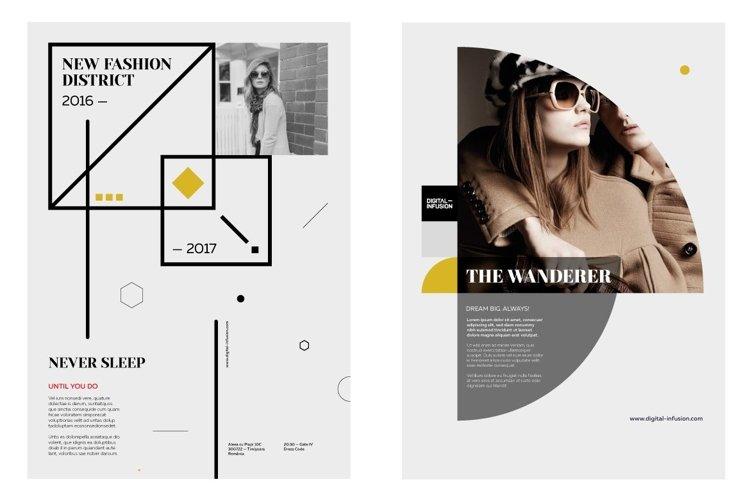 Fashion LookBook & Branding Kit example image 1