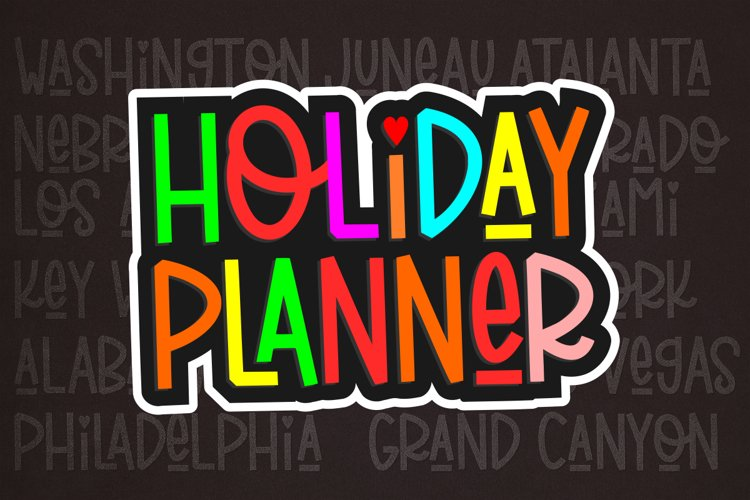 Holiday Planner example image 1