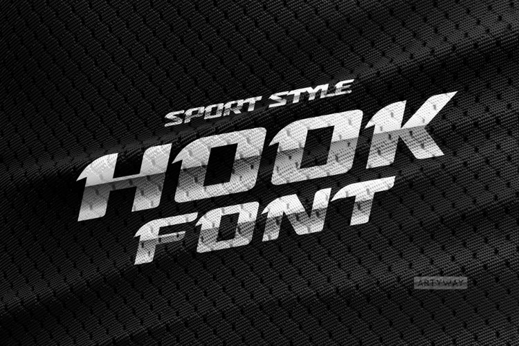 Sport Style Font / Hook Font example image 1