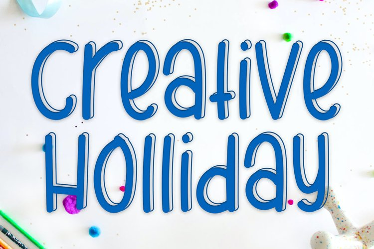 Creative Holliday example image 1
