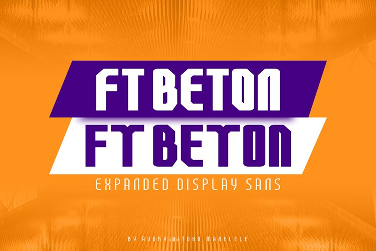 FT Beton Expanded example image 1
