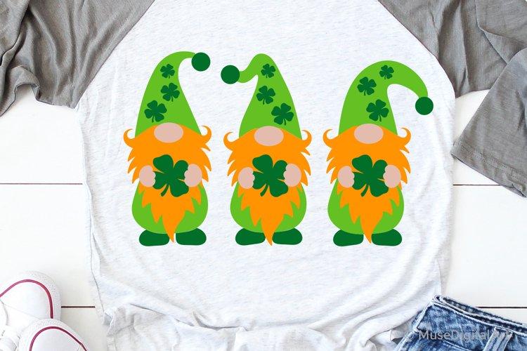 St Patricks Gnomes Svg, Funny Svg, St Pattys Kids Shirt Svg example image 1
