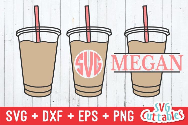 Coffee SVG | Coffee Drink Monogram Frames