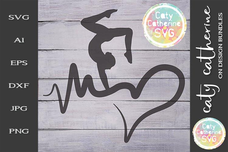 Download Heartbeat Love Heart Gymnastics Svg Cut File 243987 Svgs Design Bundles