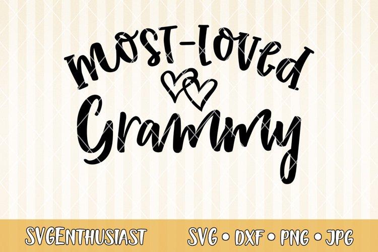 Most loved grammy SVG cut file
