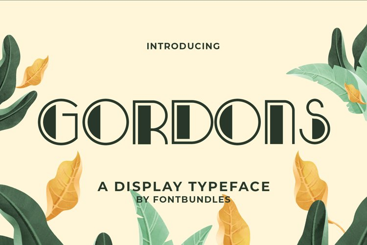 Gordons example image 1