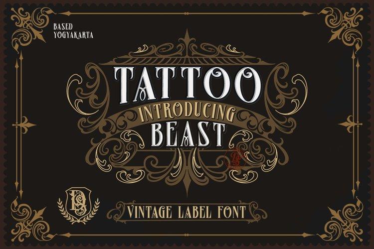 Tatto beast example image 1