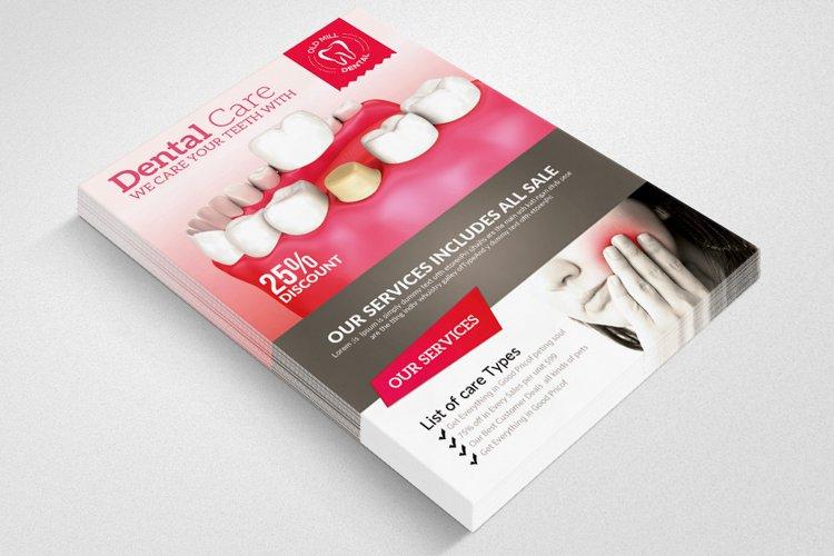 Medical Dental Flyer example image 1