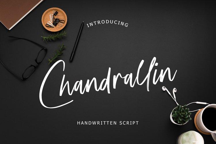 Chandrallin Handwritten Script example image 1