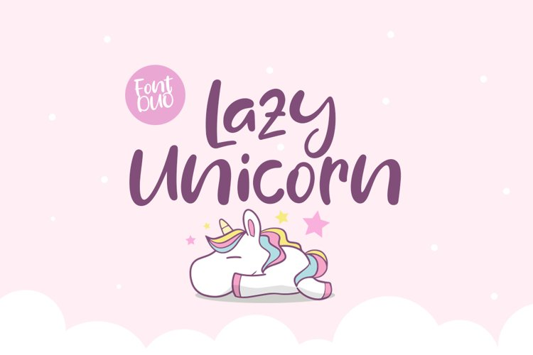 Lazy Unicorn example image 1